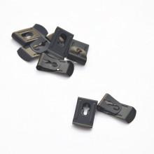 Customized Black Coating Spring Steel Belt Clip