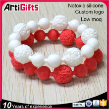 Cheap prices beautiful assorted health beads bracelet for children