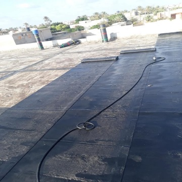 2 мм черный HDPE Geomembrane Fish Farm Pond Liner