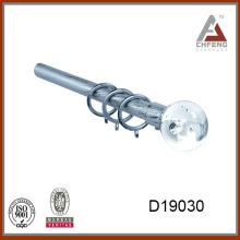 D19030bordones decorativos de vidrio cristal para barras de cortina