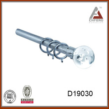 D19030decorative crystal glass finials for curtain rods