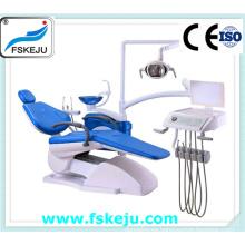 Unidad de sillón dental con visor de rayos X grande Kj-915