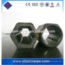 High Precision Hexagonal círculo de tubos de aço