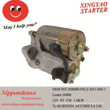Engine Parts and Starter for After Market Repair for Honda (16906)