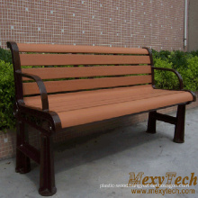 Composite Wood Material Garden and Street Long Bench, Park, 1500X610X750mm