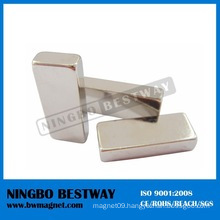 Small Block Neodymium Ni Coating Magnet