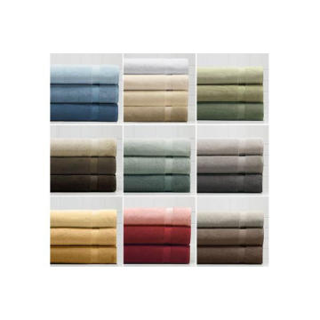 Novas toalhas de pano 100% algodão, macias e respiráveis por atacado