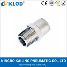 Raccord d'air pneumatique en matériau métallique