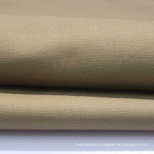 solid Durable Anti-wear Waterproof 100% Cotton Canvas Fabric