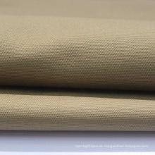 Tecido sólido durável antidesgaste impermeável 100% algodão em tela