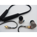 Auriculares estéreo Hifi Bass Stereoproof W / Mic
