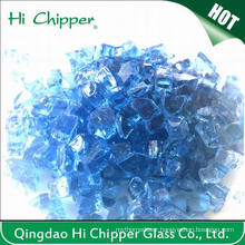 Fire Pit Glass Ford Blue