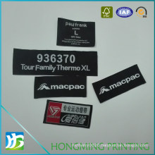 Professional Manufacturer Wholesale Woven Clothing Label