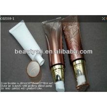 Cream pump cosmetic tubes squeeze