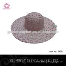 Großhandel Papier Damen Top Hut Sonnenblende Hut