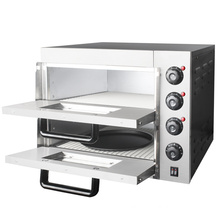 Commercial two-tier two-disc electric oven pizza bread bread cake chicken legs chicken wings baking oven pizza machine