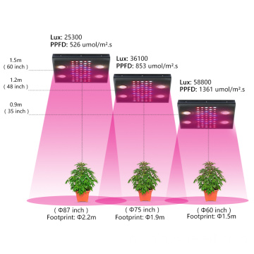 700W Landbouw Applicatie LED Grow Light