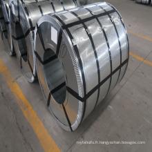 Bobine d'acier inoxydable laminée à froid de matériau métallique