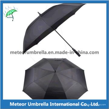 Parapluie de golf en fibre de verre automatique de qualité automatique