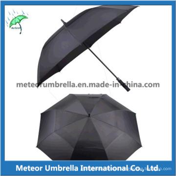 Quality Automatic Open Straight Fiberglass Golf Umbrella