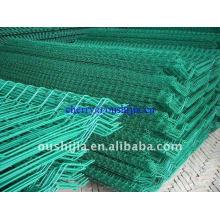 Vinyl PVC Coated Welded Wire Mesh Fence(Factory&Exporter)