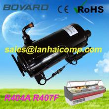 Repuestos de refrigeración compresor refigeration de carro vitrina refrigerador de la isla de R407F R404A CE ROHS