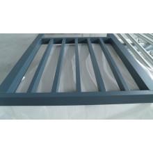 6063 sistema de trilhos de alumínio extrudado feito como clientes