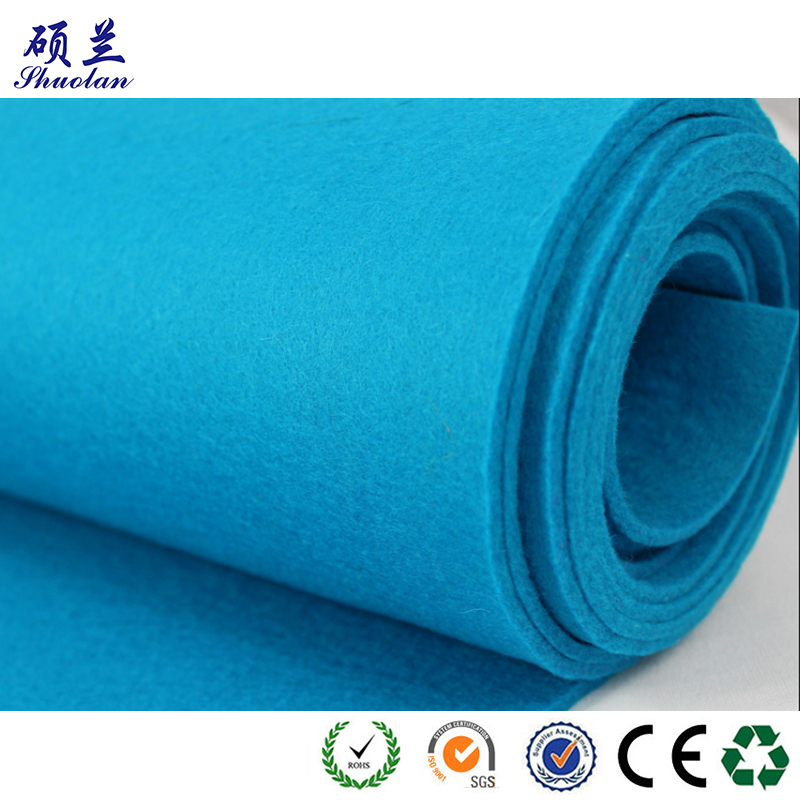 Customized Color Polyester Felt Fabric