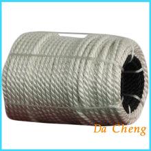 Cuerda del PE del filamento para jaulas de red
