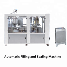Fully automatic sheet feeding press Easy Operation Pop Can Beer Filling and Sealing Machine