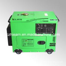 5.5kw Portable Model Silent Diesel Genset (DG7500SE)