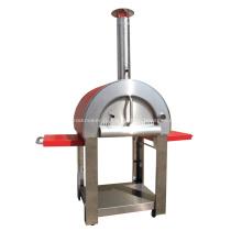 Делюкс высококачественная уличная печь для пиццы на дровах