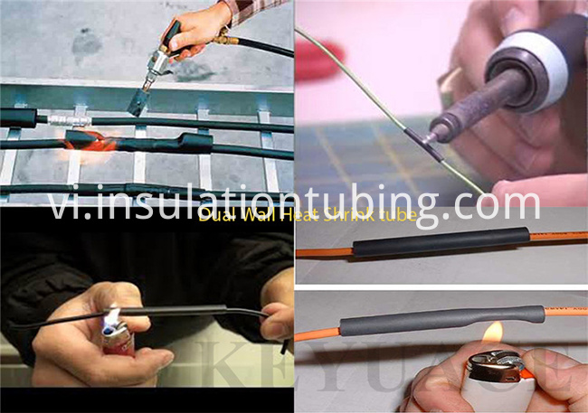 Wall Heat Shrink Tubing Kit