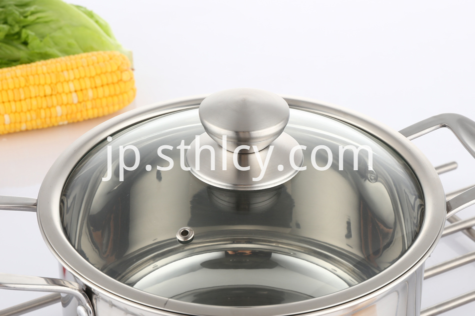 Stainless Steel Soup Pots
