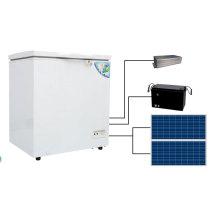 Refrigerador solar y congelador del tamaño de la diferencia