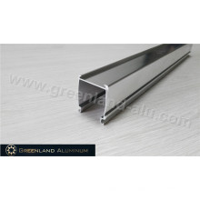 High Quality Anodized Silver Aluminum Track Profile