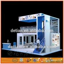 6m * 6m trois-side stand ouvert de double plate-forme, stand modulaire d'exposition de stands de système pour le salon commercial