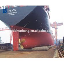 Airbag inflable del caucho marino para el lanzamiento de la nave hecho en China