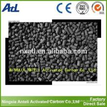 Carbón acolumnado recuperación recuperación de carbono activado