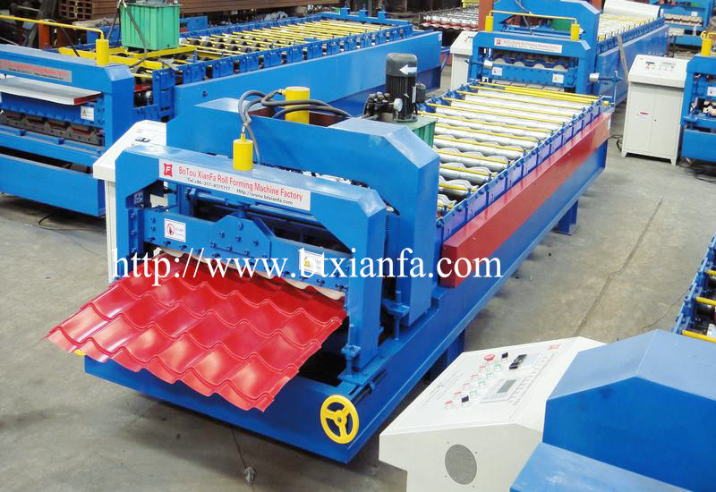 color roof tile forming machine