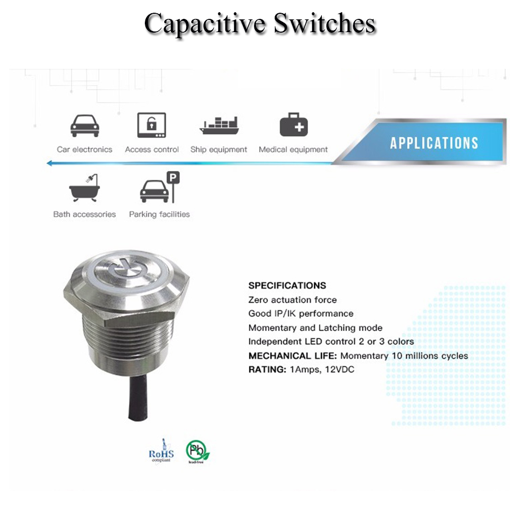 Capacitive Metal switch