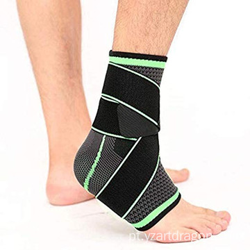 Basketball Elastic Fitness Recovery Motion Compression Lace-up Ankle Brace