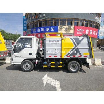 Cheap 4x2 Hydraulic Lifting Garbage Truck