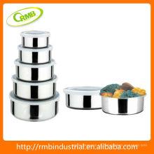 Tazón de fuente de acero inoxidable de la alta calidad (RMB)