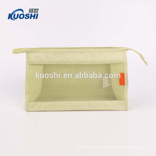 clear vinyl travel cosmetic toiletery bag for men