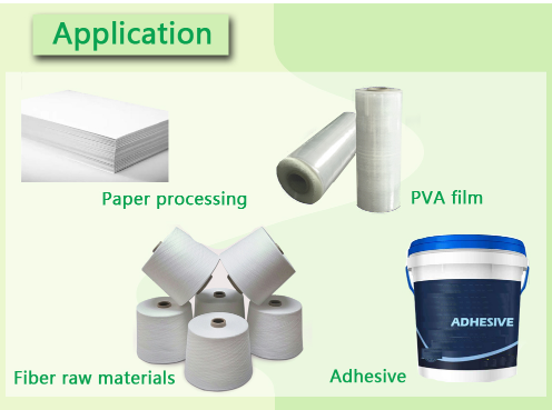 PVA for Water-resistant adhesives