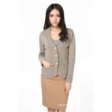 Ladies Fashion Cashmere Cardigan (3089-2013028)