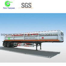 22.10m3 Вместимость 10 труб CNG Jumbo Tube Полуприцеп