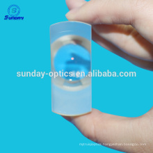 ZF2 Glass meniscus lenses AR coated