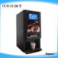 Misturando sabores máquina de café automática com display de LED e aprovação CE - Sc-71104